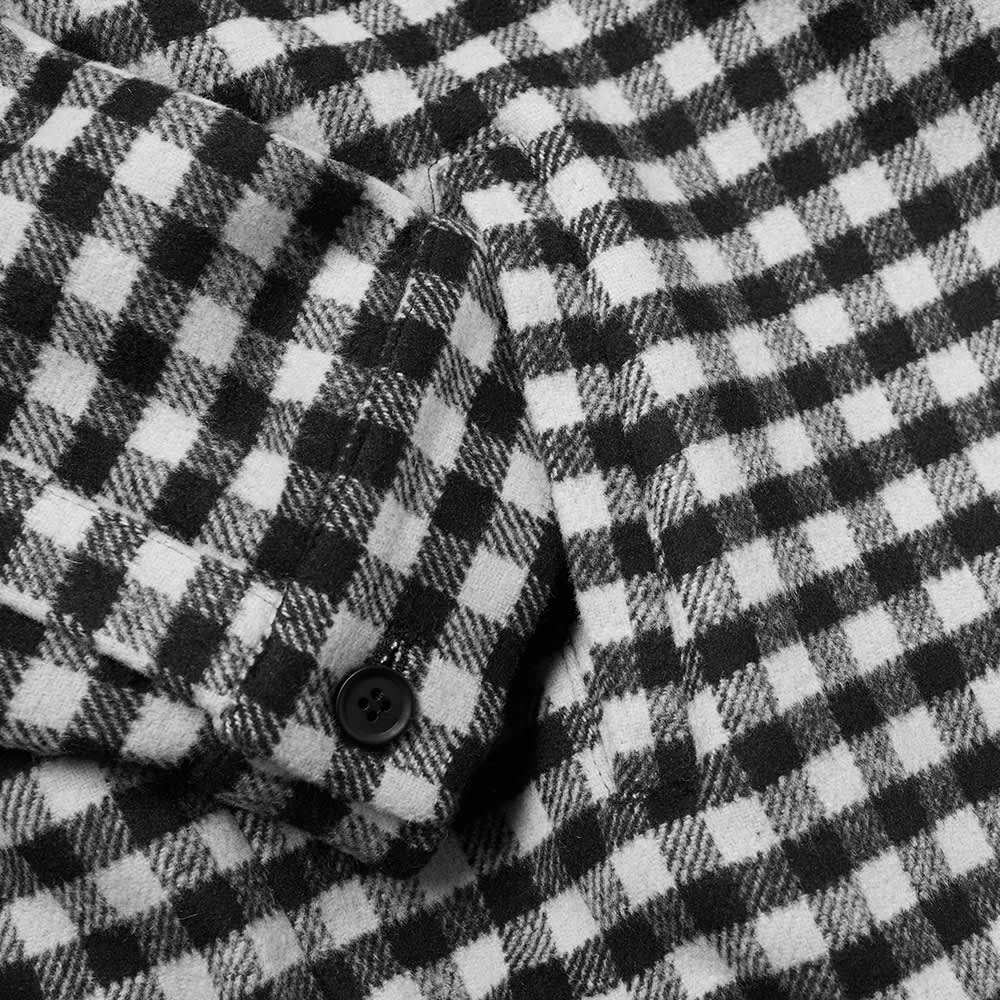 The National Skateboard Co. Harrington Jacket - Checked Black & Light Grey