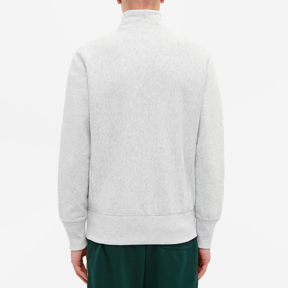 Champion Reverse Weave Classic Half Zip Sweat - Grey