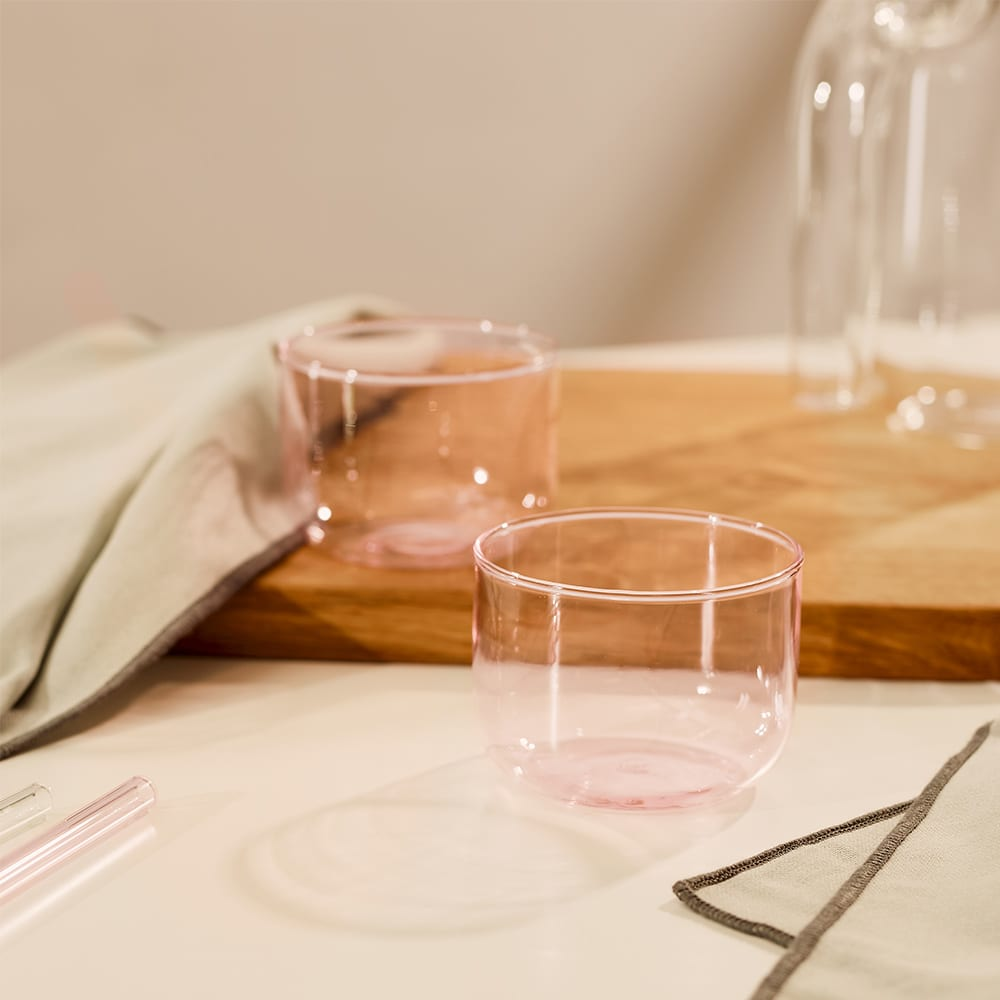 HAY Tint Glass - Set of 2 - Pink