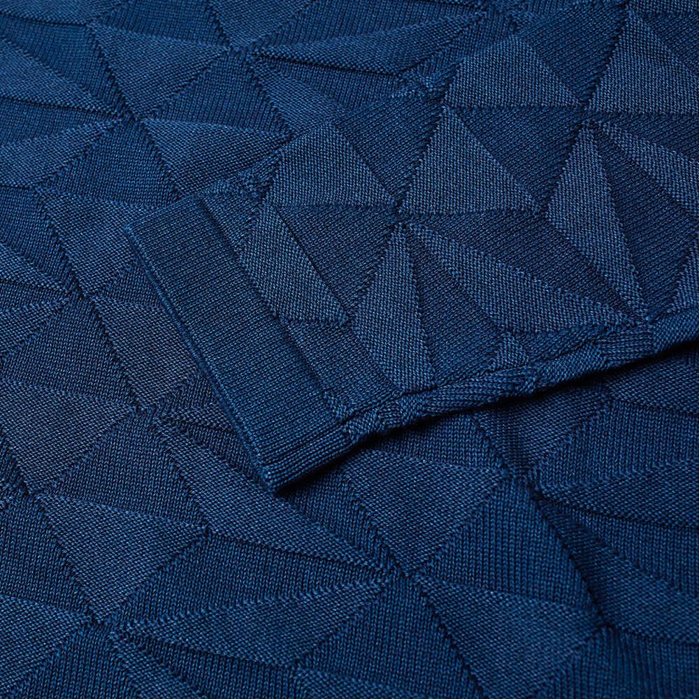 Stone Island Shadow Project Garment Dyed Crew Knit - Indigo