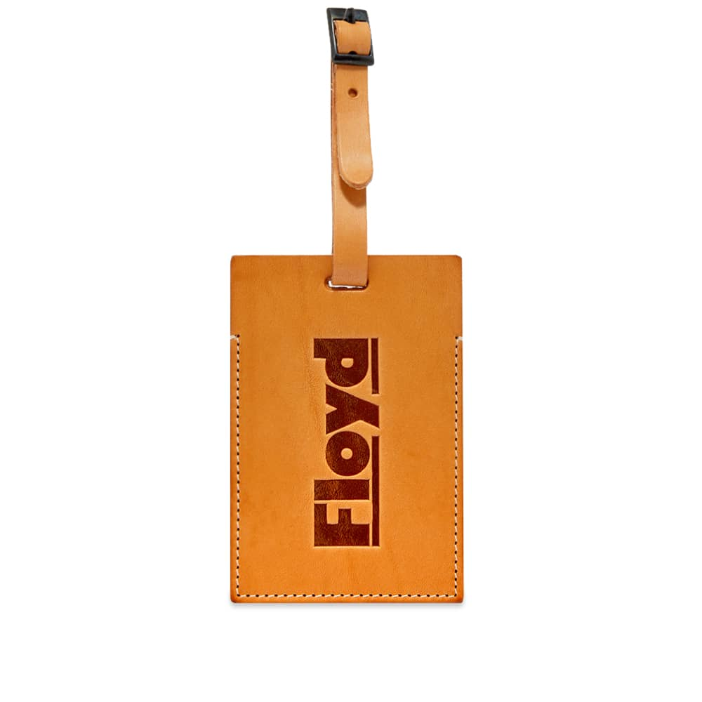 Floyd Natural Leather Luggage Tag - Natural Leather