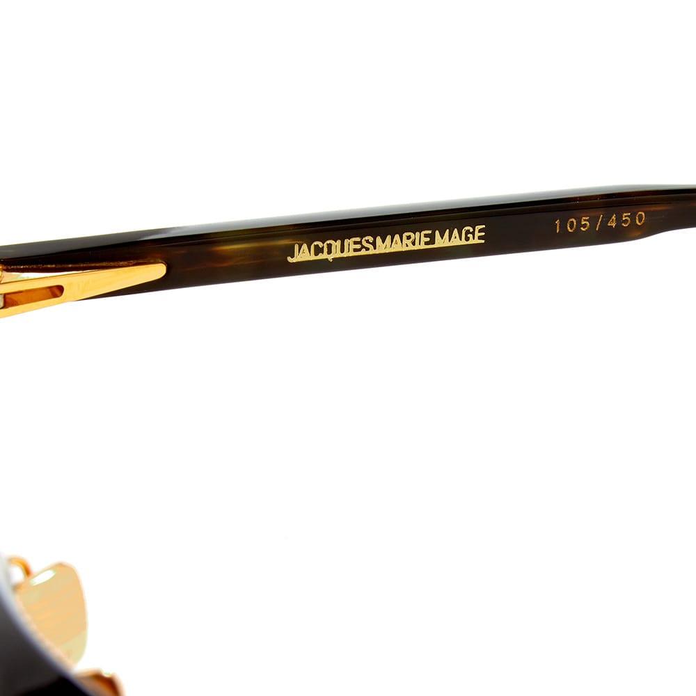 Jacques Marie Mage Clark Sunglasses - Noir, Black & Brown