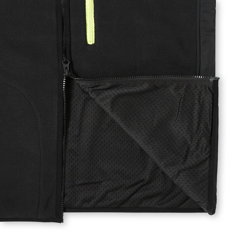 Penfield Moore Fleece Vest - Black