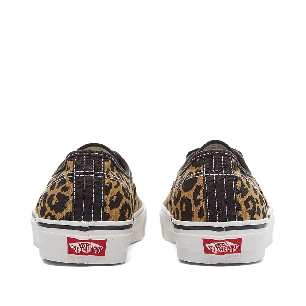 Vans UA Authentic 44 DX - Black & Tan Leopard