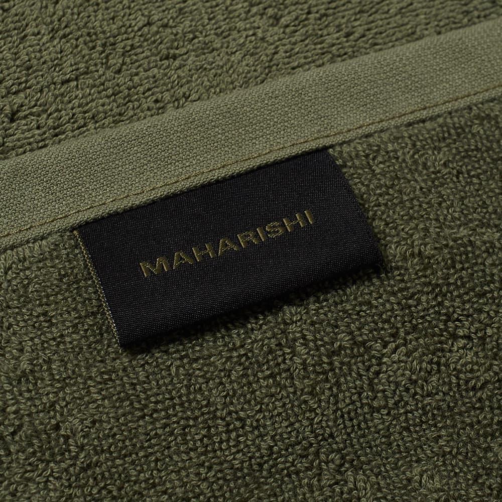 Maharishi Large Towel - Olive