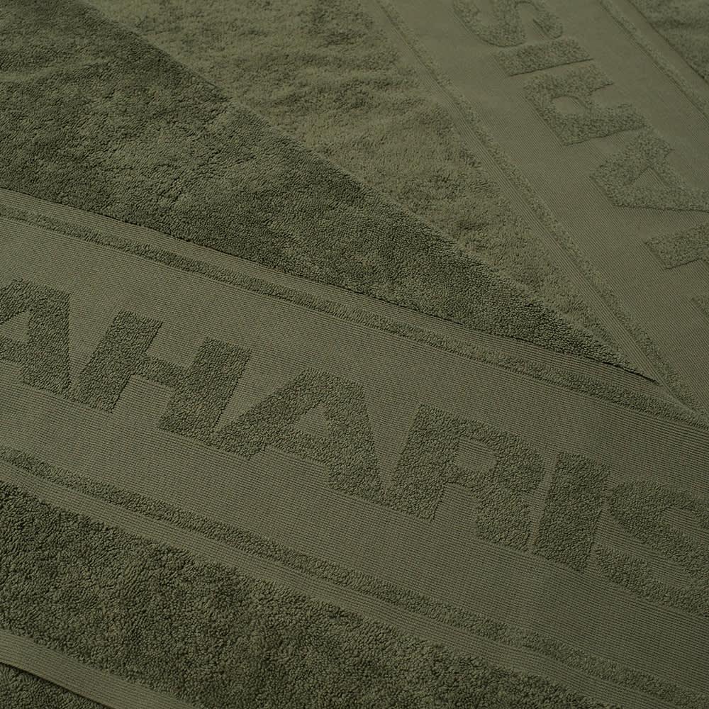 Maharishi Small Towel - Olive