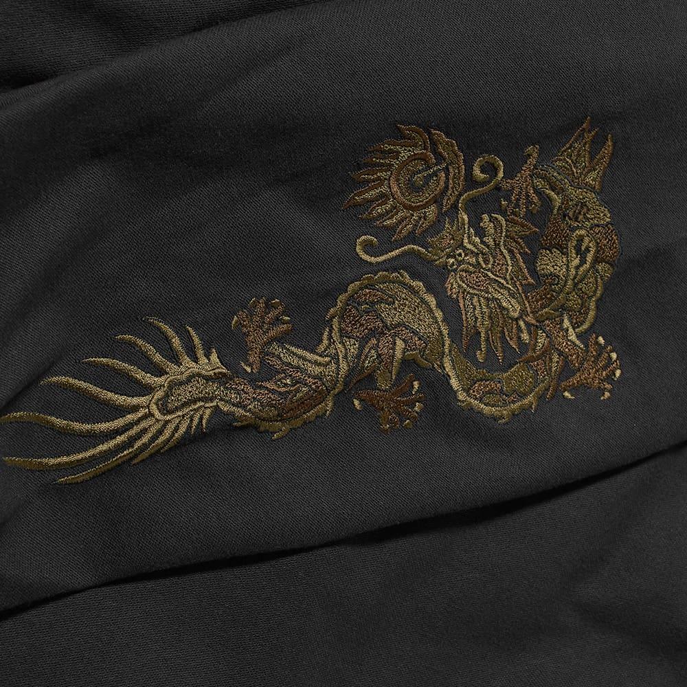 Maharishi Embroidered Dragon Shirt - Black