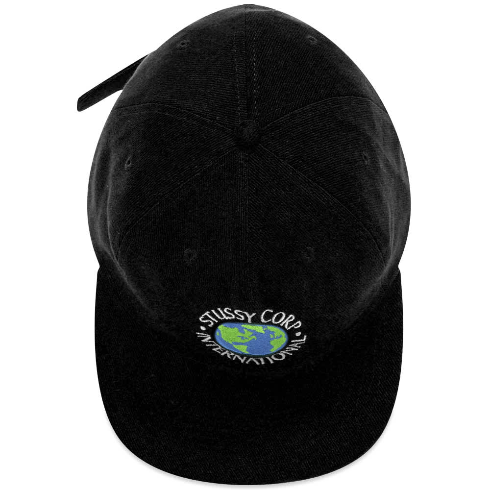 Stussy Utopia Strapback Cap - Black