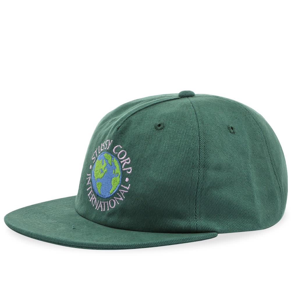 Stussy Utopia Strapback Cap - Green