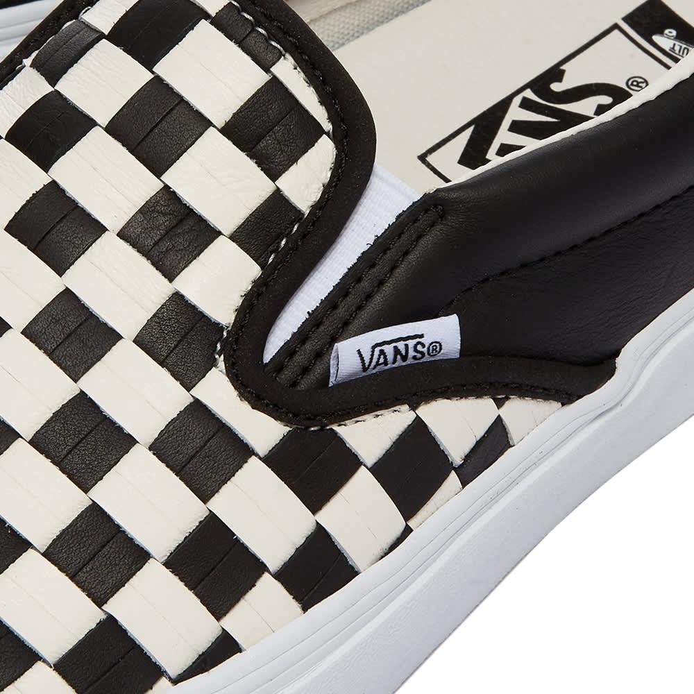 Vans Vault UA Classic Slip-On LX - Black & Blanc