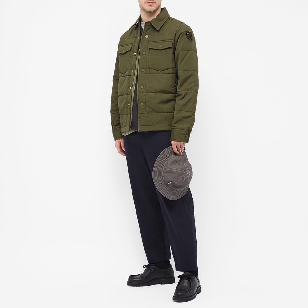 Maharishi Padded Shirt Jacket - Olive