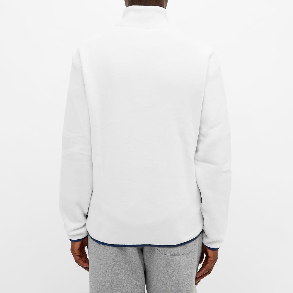 Champion Reverse Weave Polartec Half Zip Sweat - White
