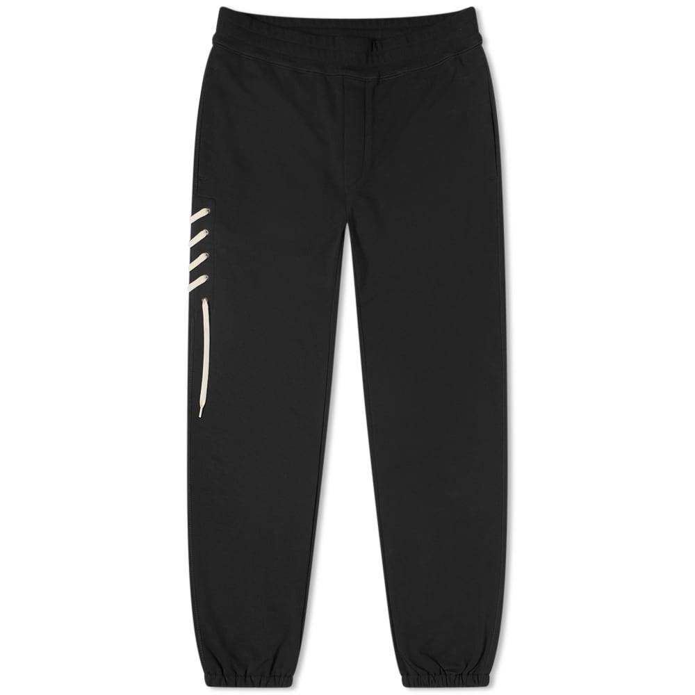 Craig Green Laced Sweatpant - Black & Cream