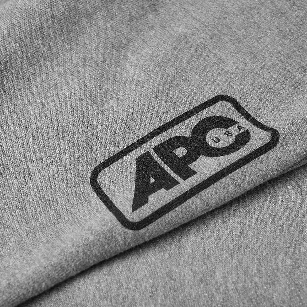 A.P.C. U.S Denise Logo Jogger - Grey Marl