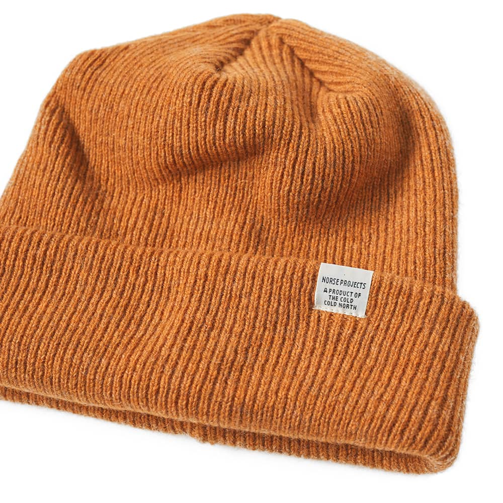 Norse Projects Beanie - Mustard Yellow