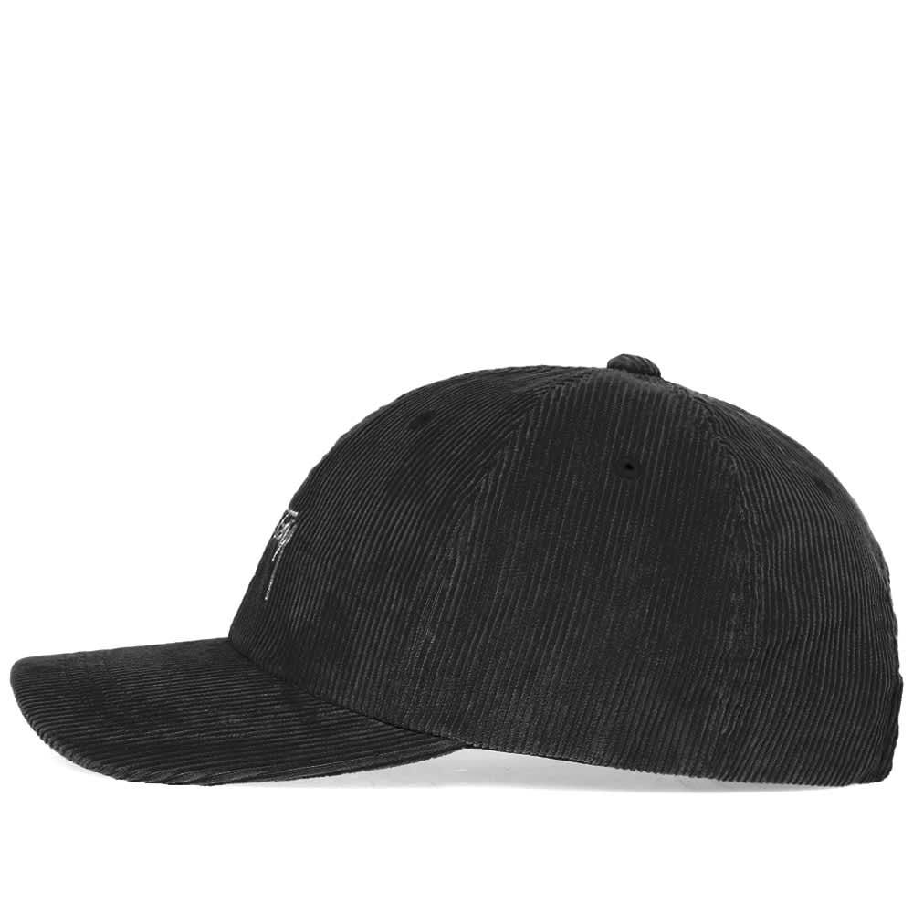 Stussy Corduroy Low Pro Cap - Black