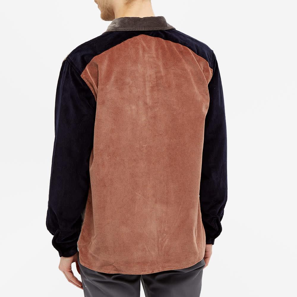Très Bien Cord Shirt - Grey Block