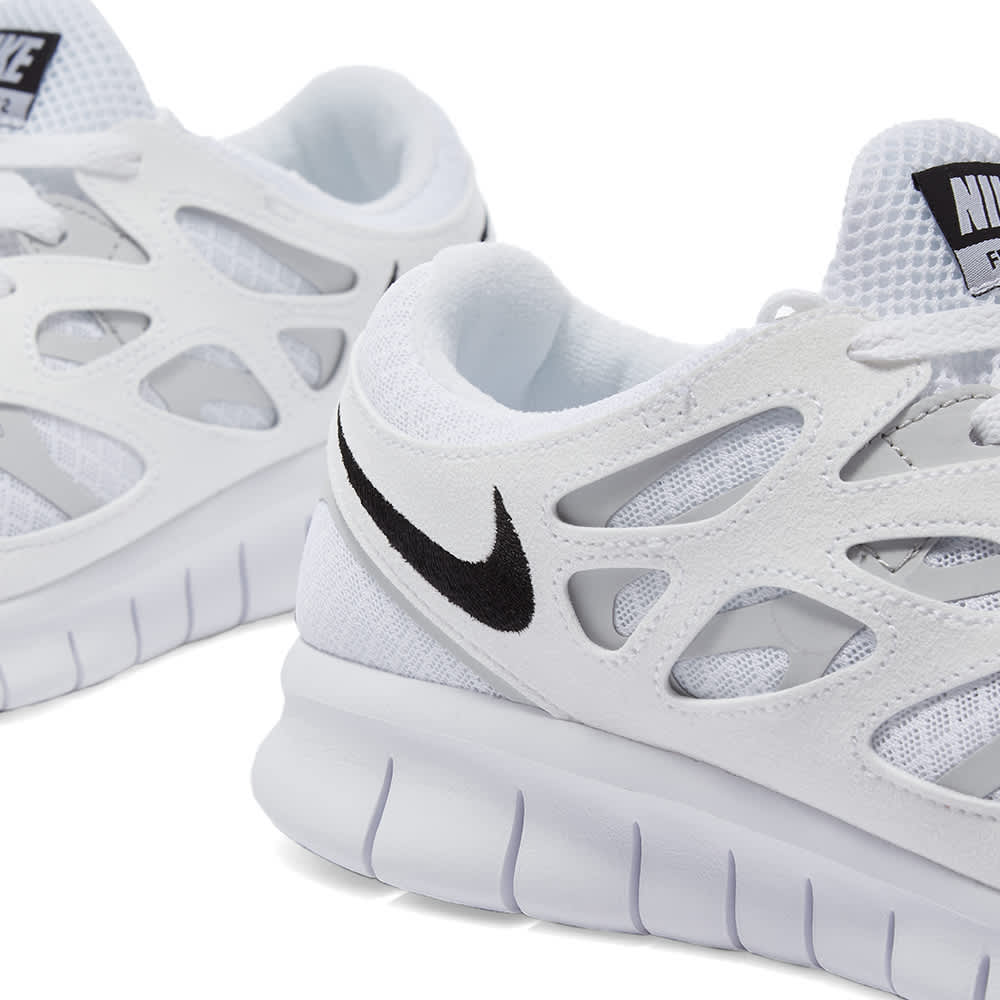 Nike Free Run 2 - White, Black & Platinum