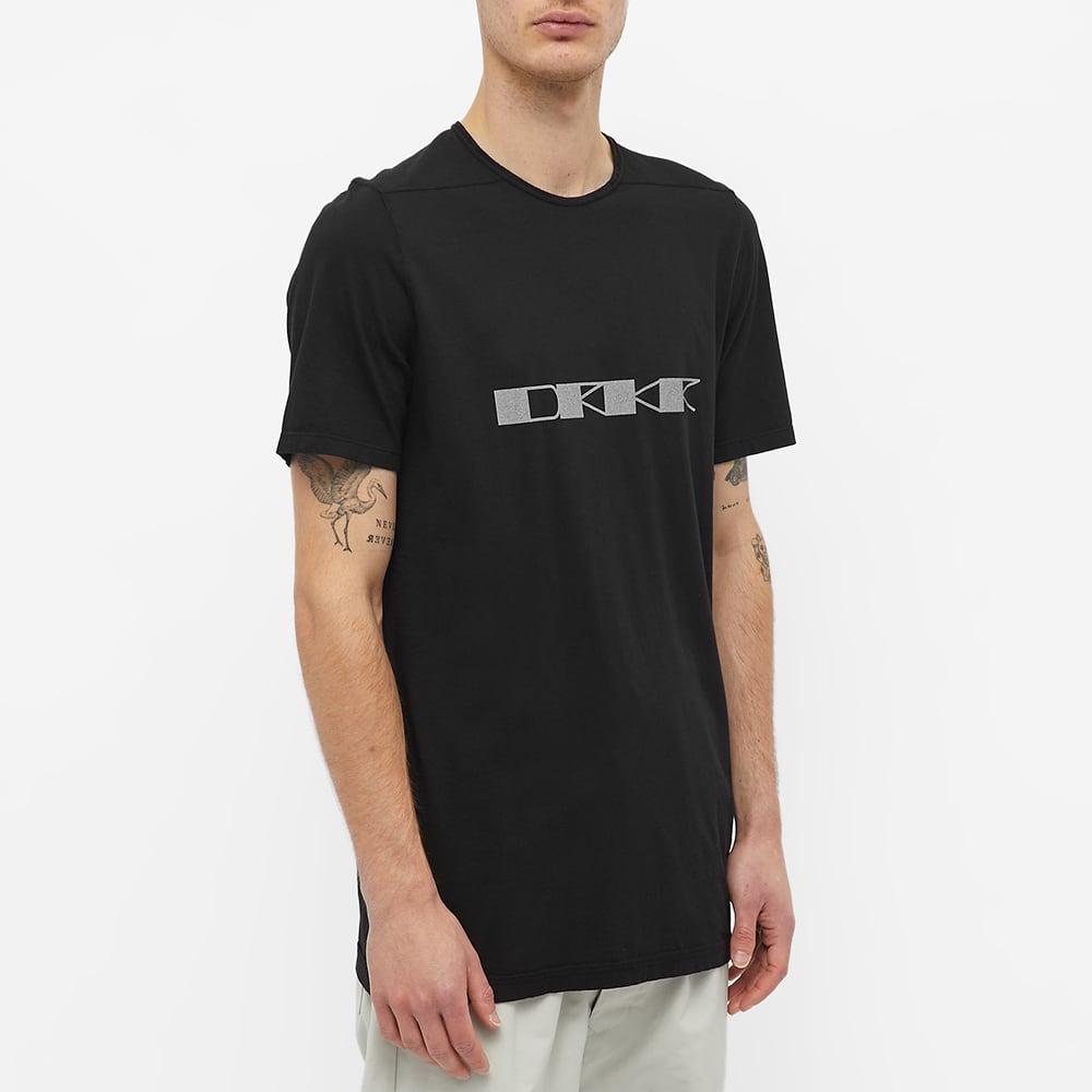 Rick Owens DRKSHDW Drkr Print Level Tee - Black