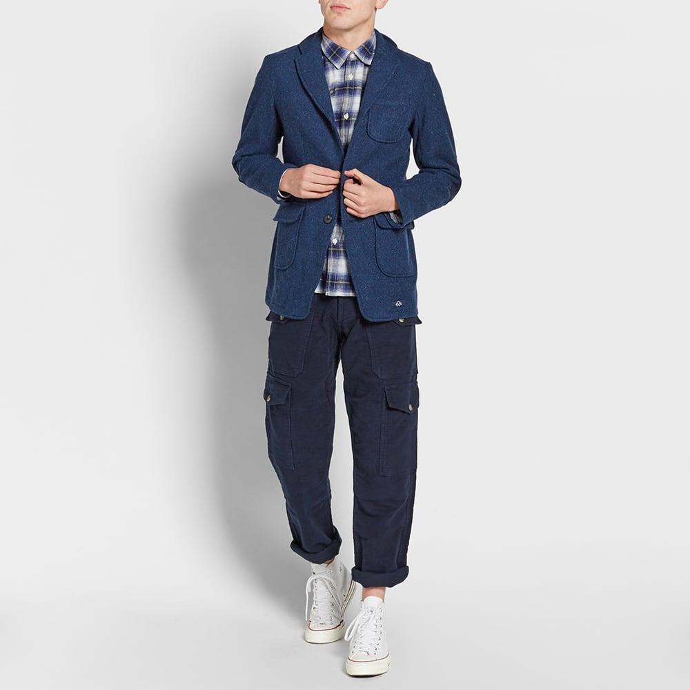 Bleu de Paname Shetland Blazer - Indigo