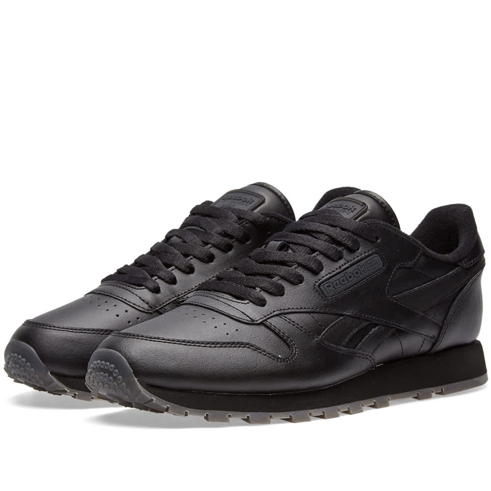 Reebok Classic Leather Solids Black | END.