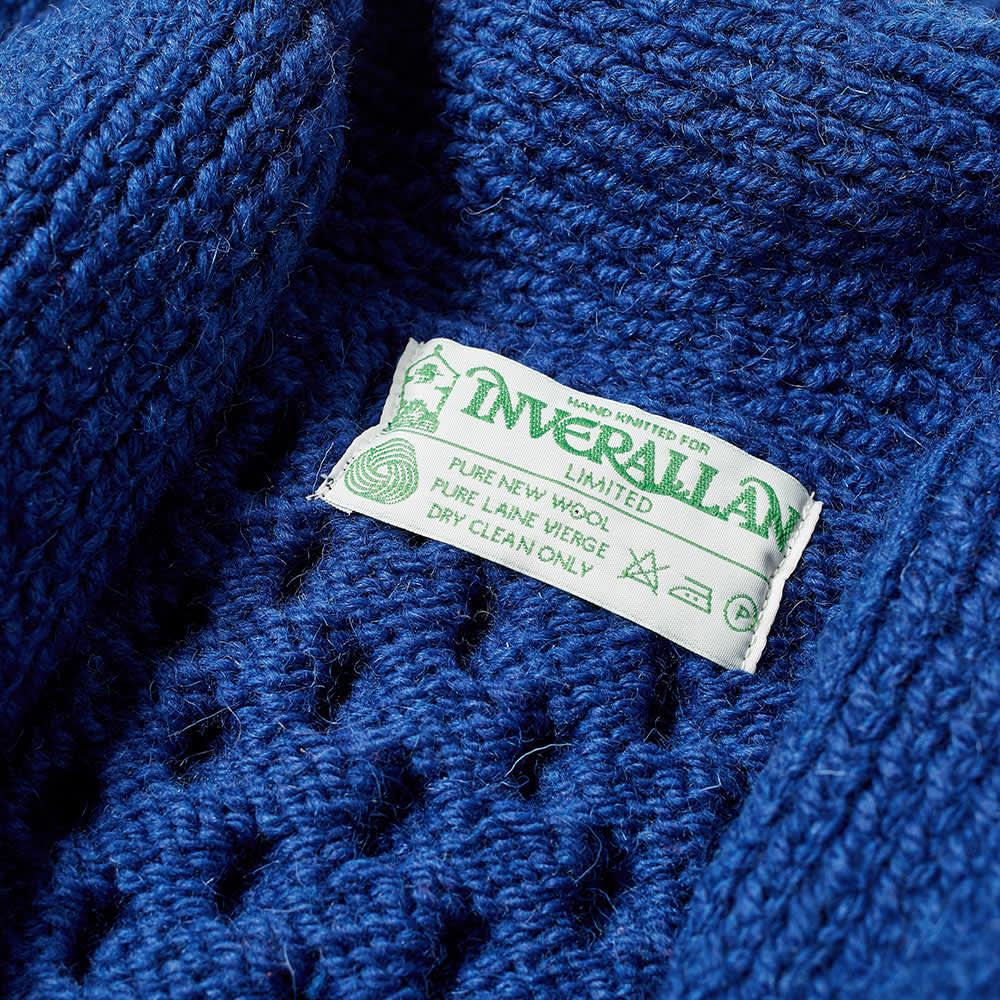 Inverallan 6A Shawl Cardigan - Inky Blue