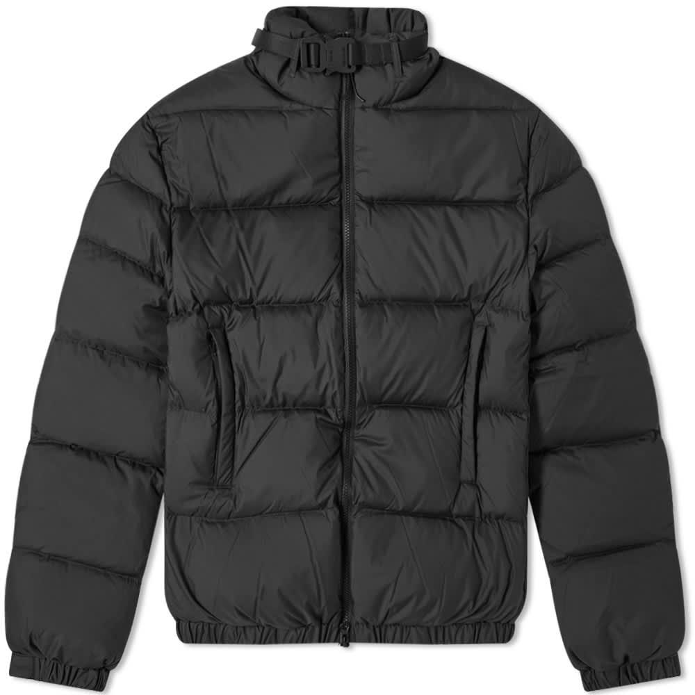1017 ALYX 9SM Buckle Puffa Jacket - Black