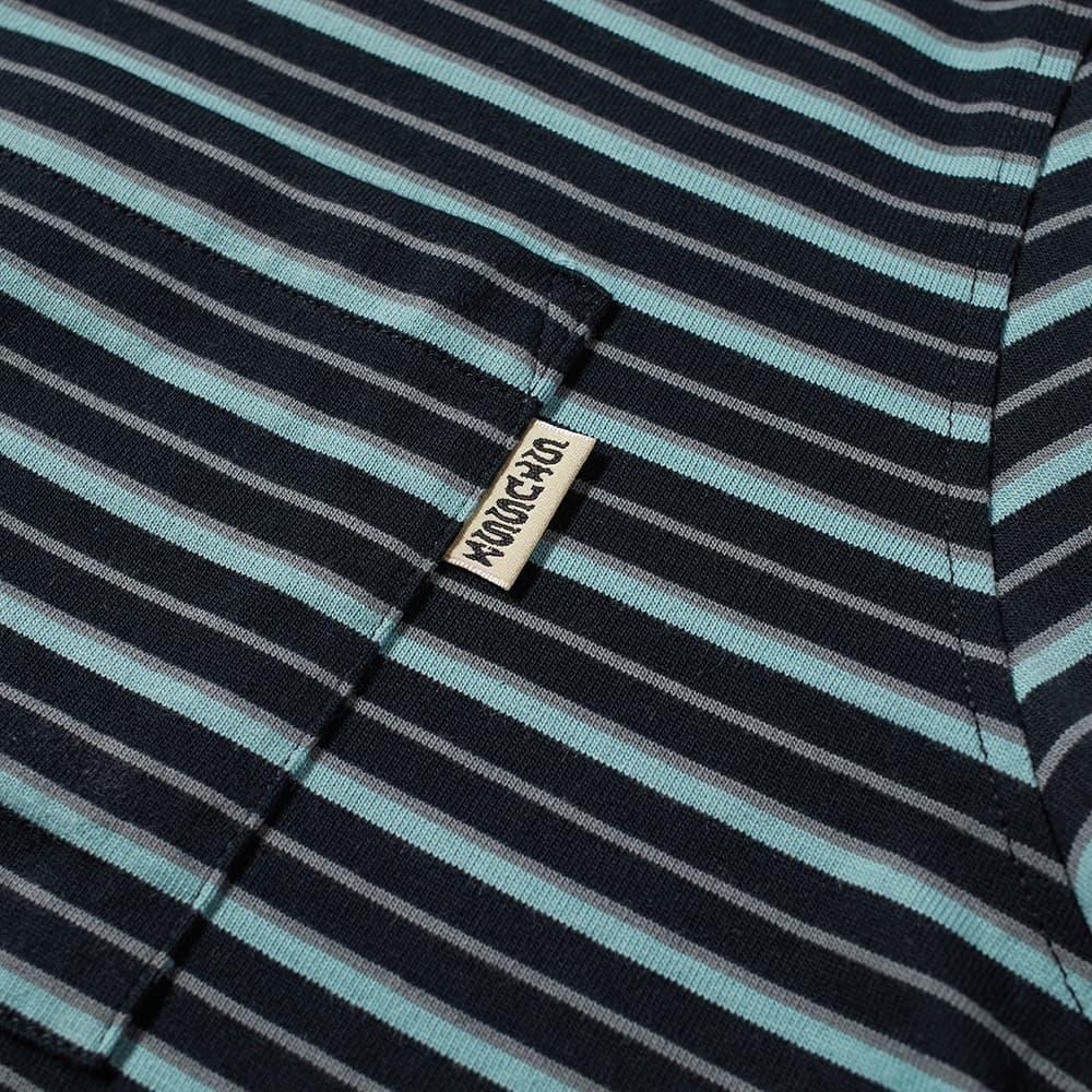 Stussy Classic Striped Tee - Black