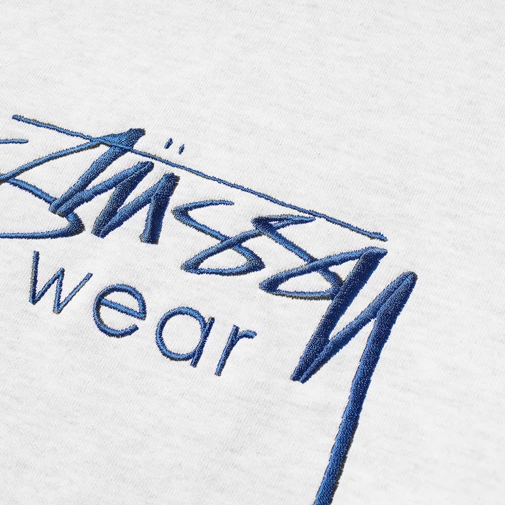 Stussy Wear Applique Hoody - Ash Heather