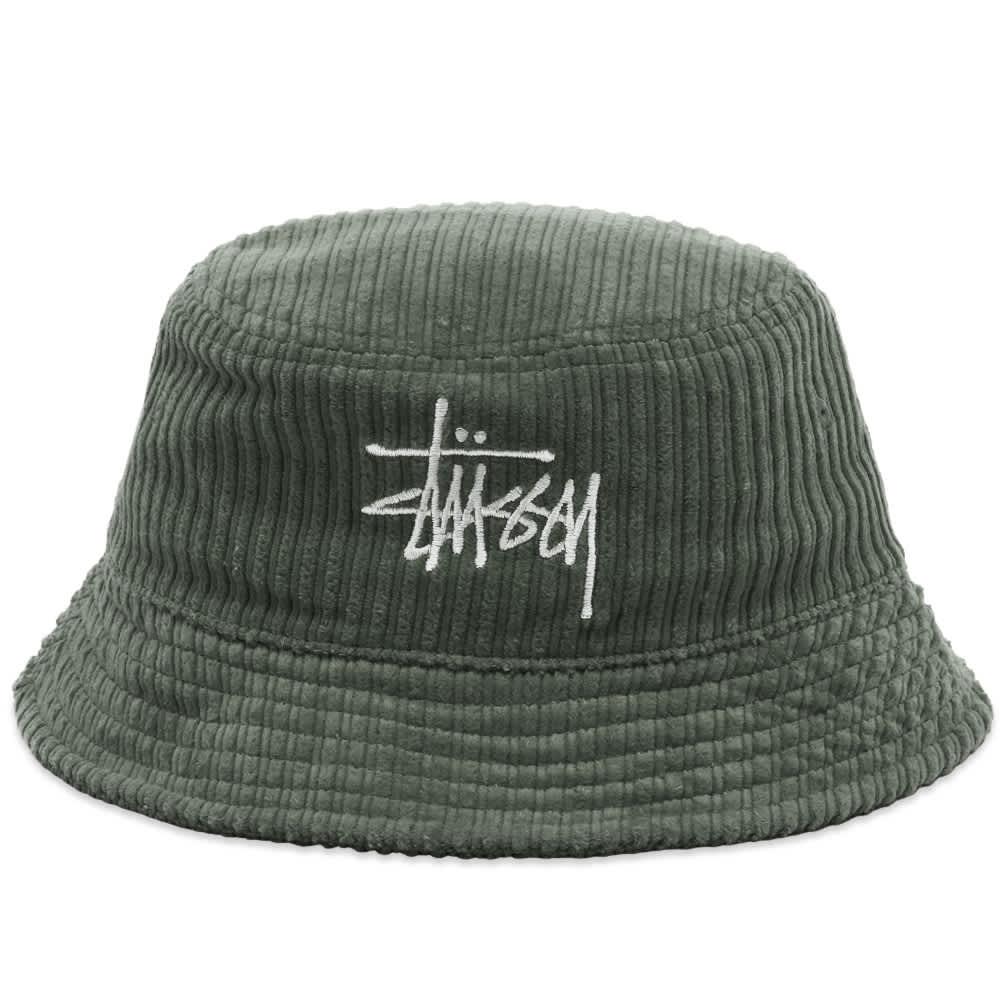 Stussy Big Basic Bucket Hat - Olive