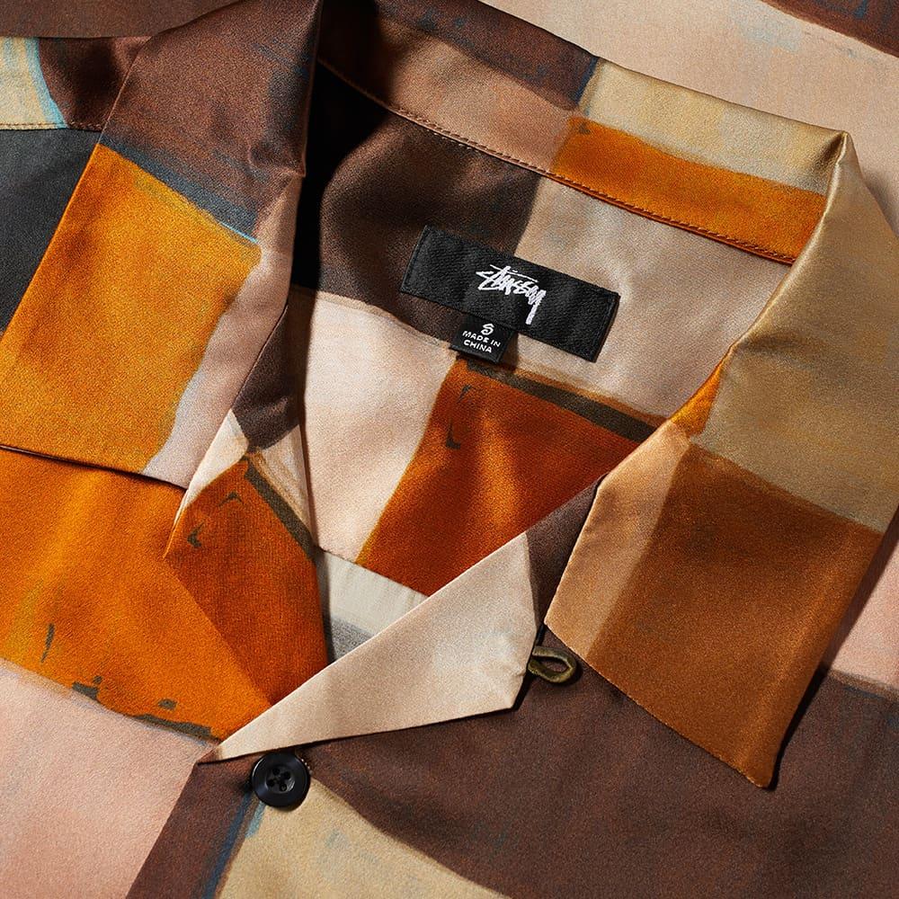 Stussy Painted Check Silk Shirt - Multi