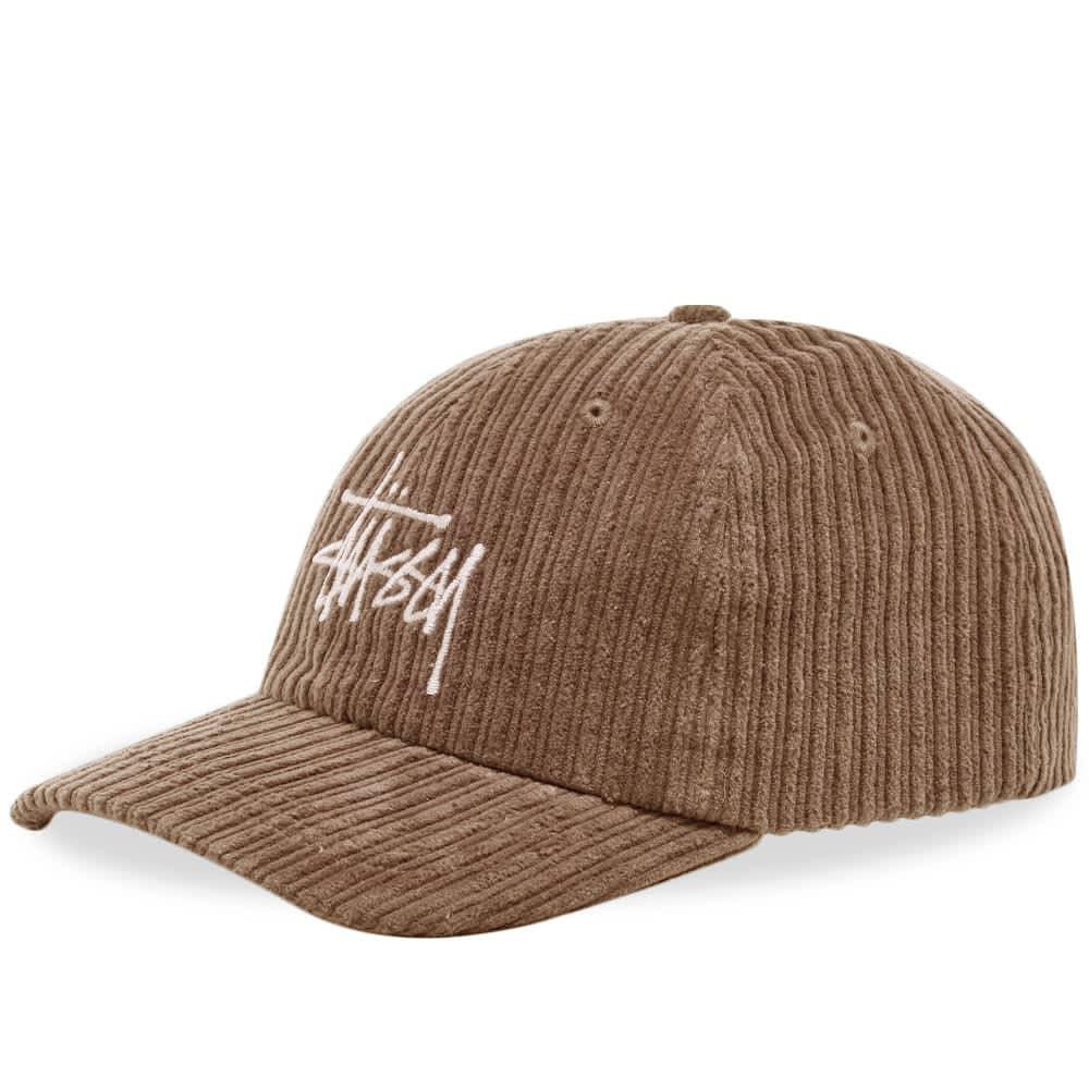Stussy Big Logo Low Pro Cap - Maple