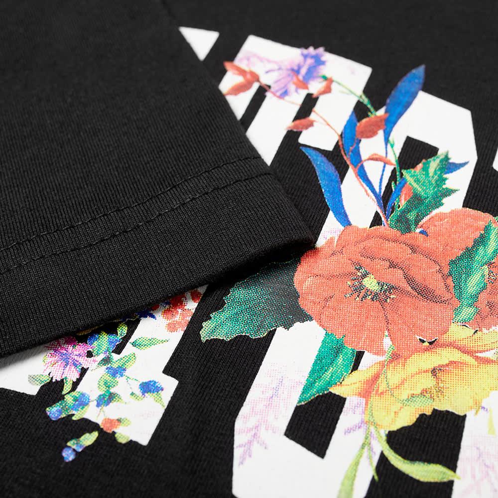 Chinatown Market Flower Arc Tee - Black