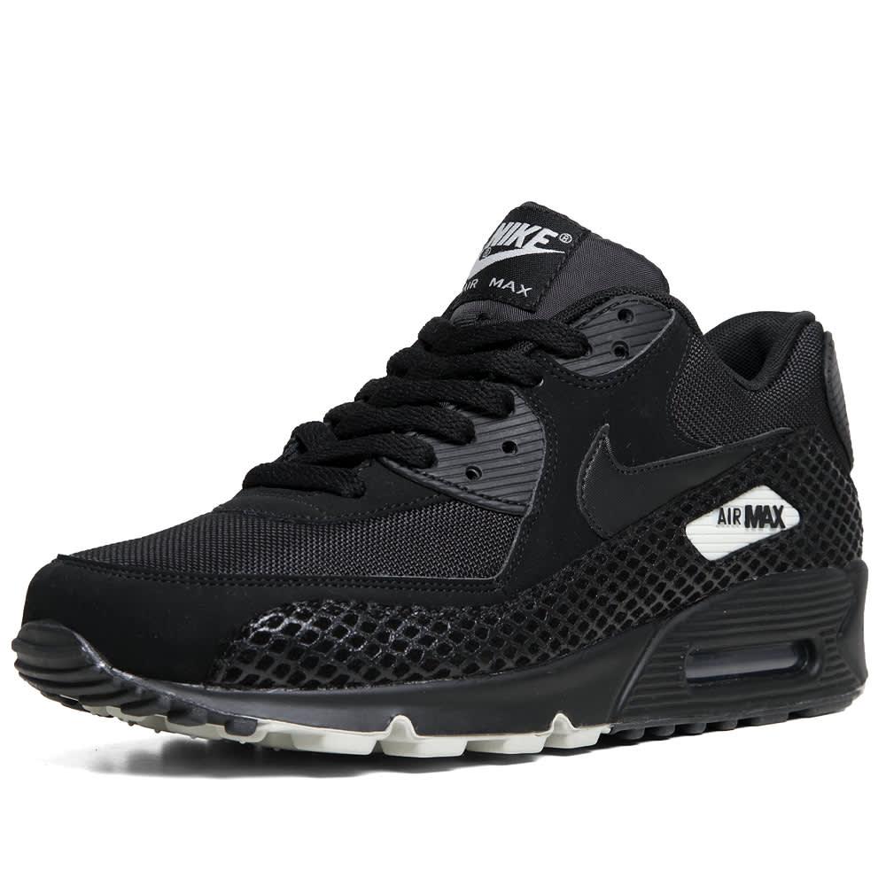 Nike Air Max 90 Premium  - Pre Order - Black & Black