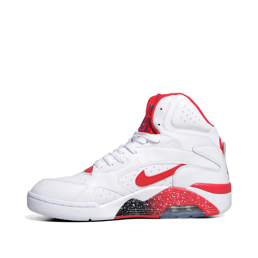 Nike Air Force 180 Mid  - Pre Order - White & Hyper Red