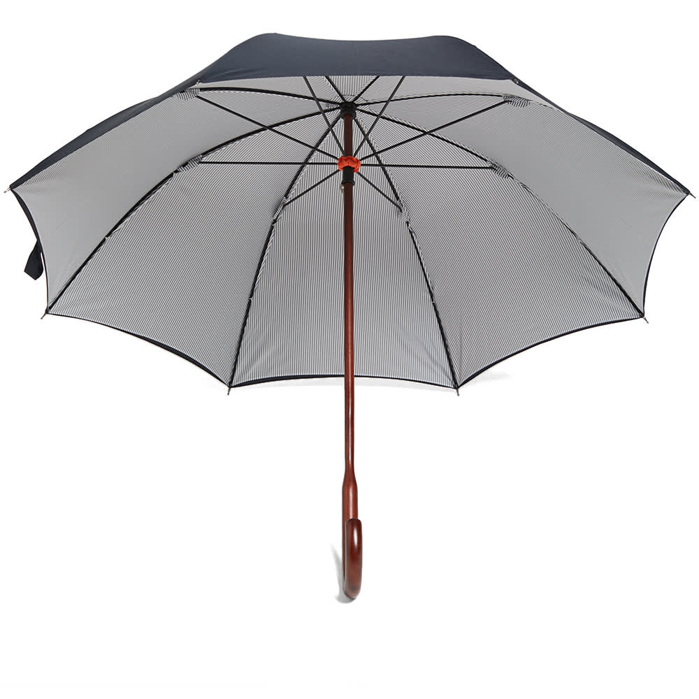 London Undercover Classic Double Layer Umbrella - Navy & Oxford