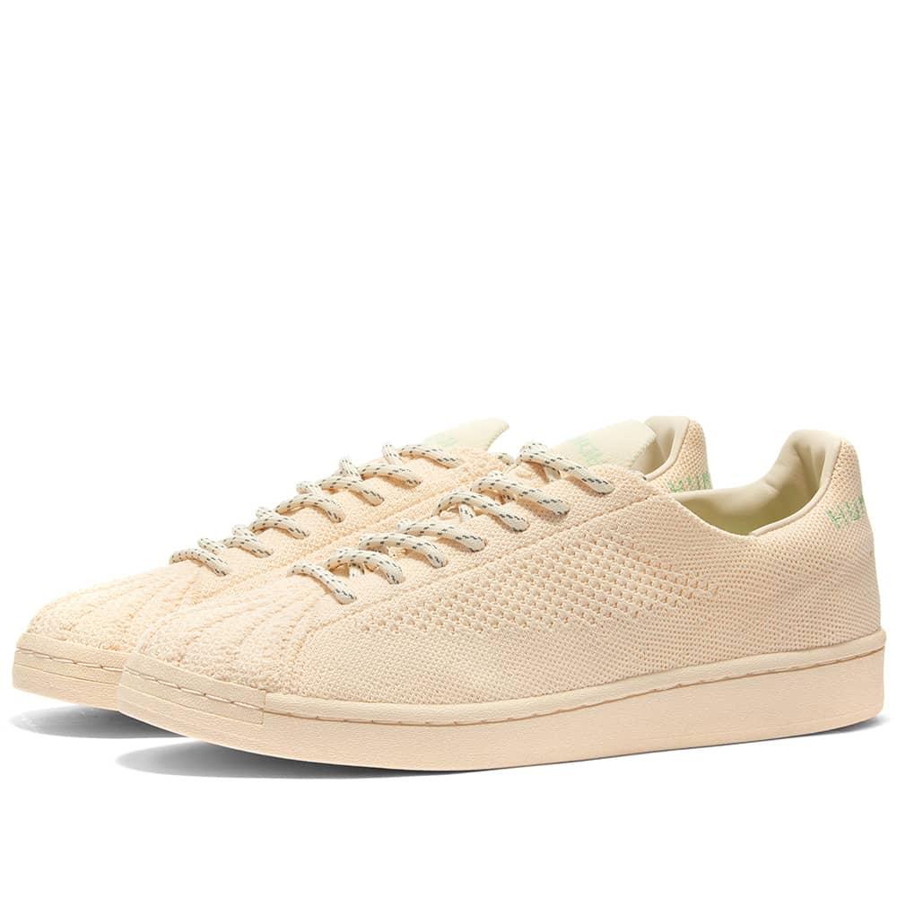 Adidas x Pharrell Williams Superstar - Tint, White & Glory Mint
