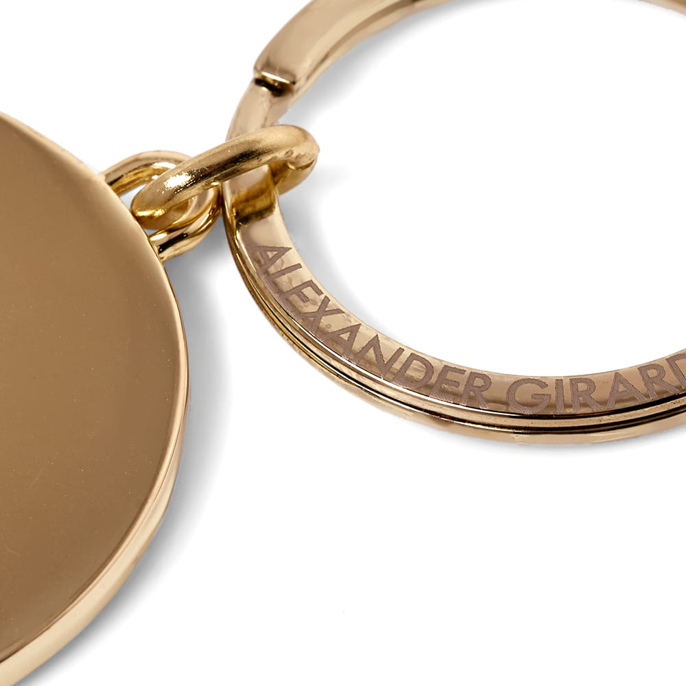Vitra Alexander Girard 1966 Sun Key Ring - Brass