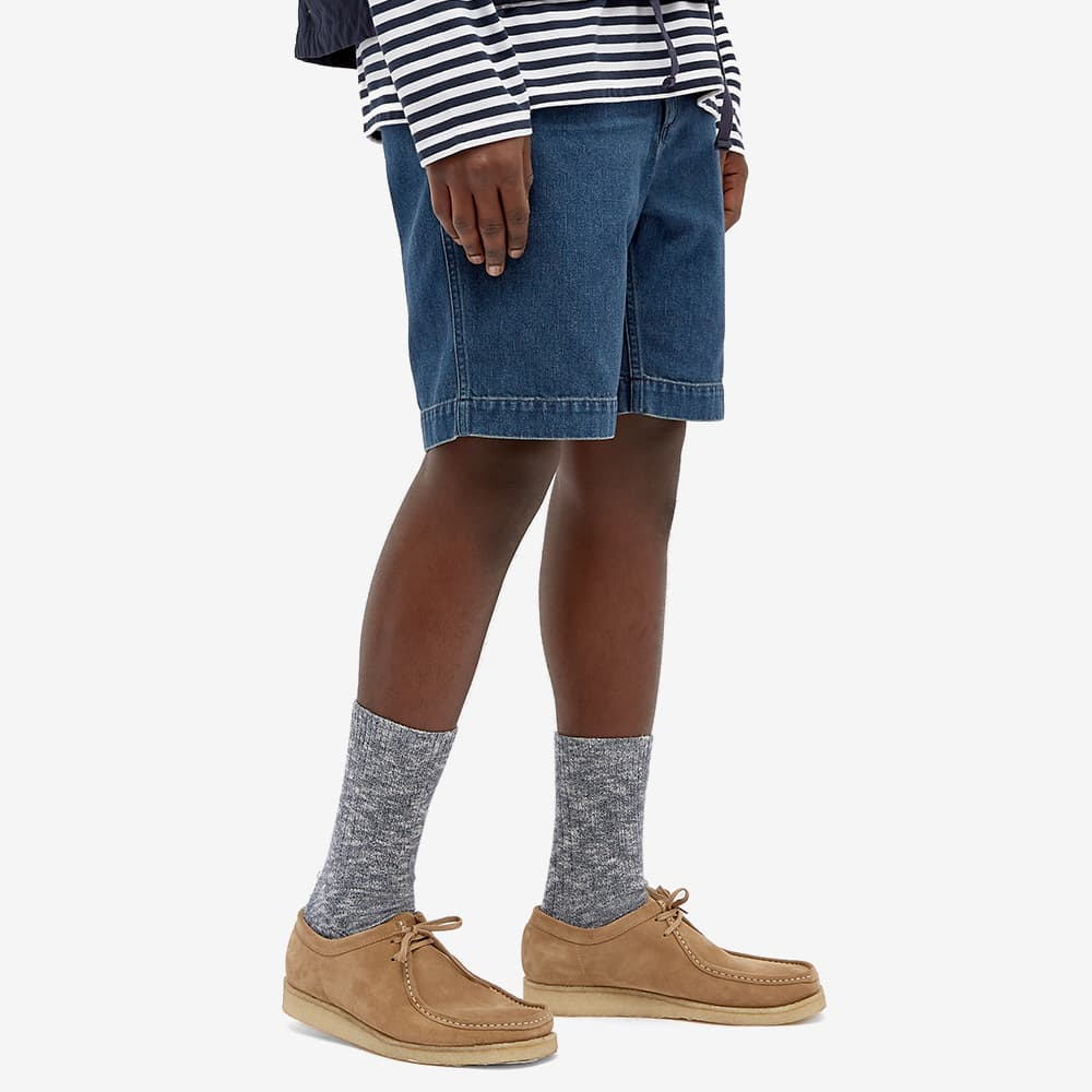 Nanamica Denim Easy Shorts - Indigo Bleach