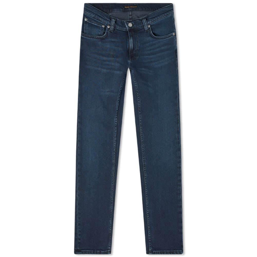 Nudie Tight Terry Jean - Blue Revelation