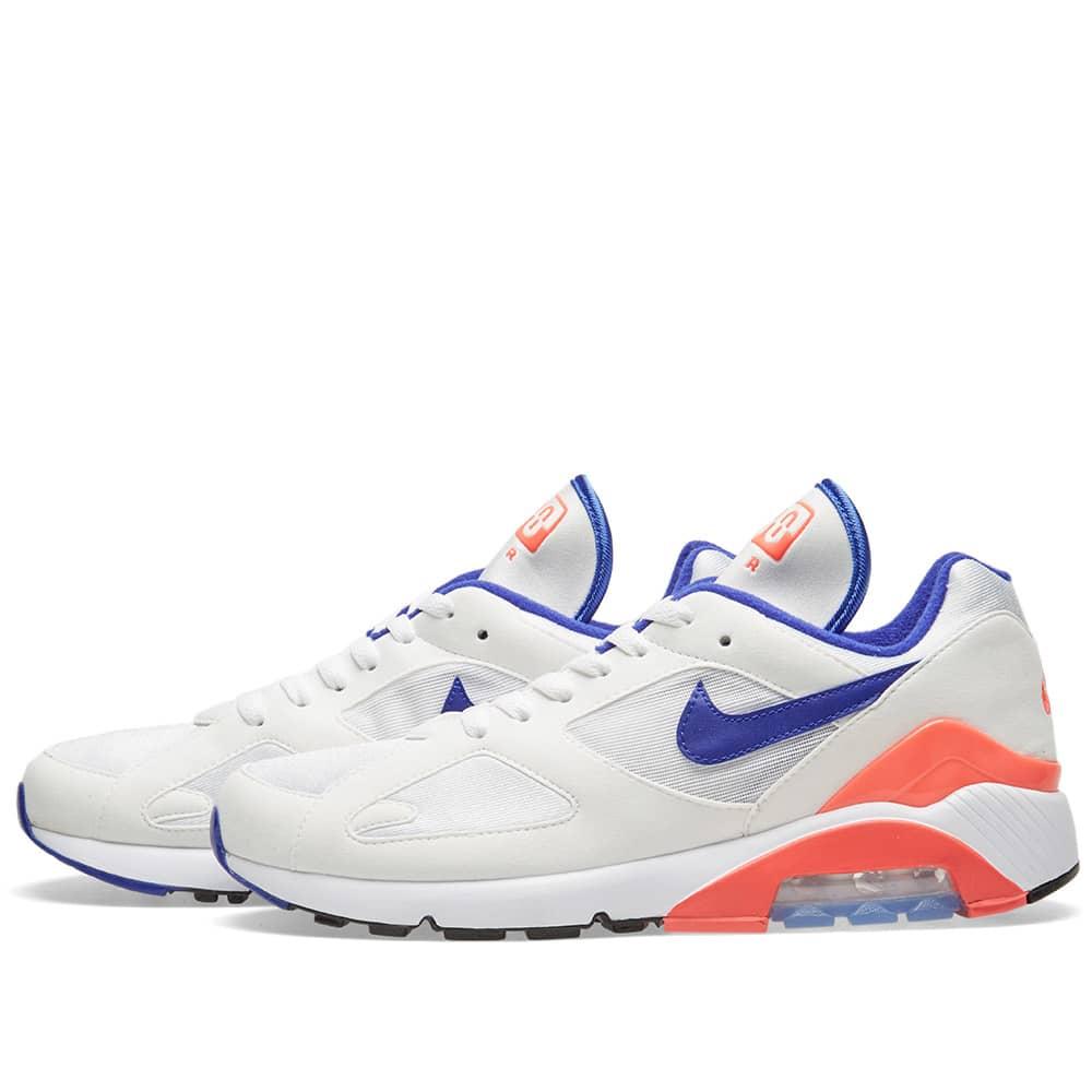 Nike Air Max 180 W White, Ultramarine