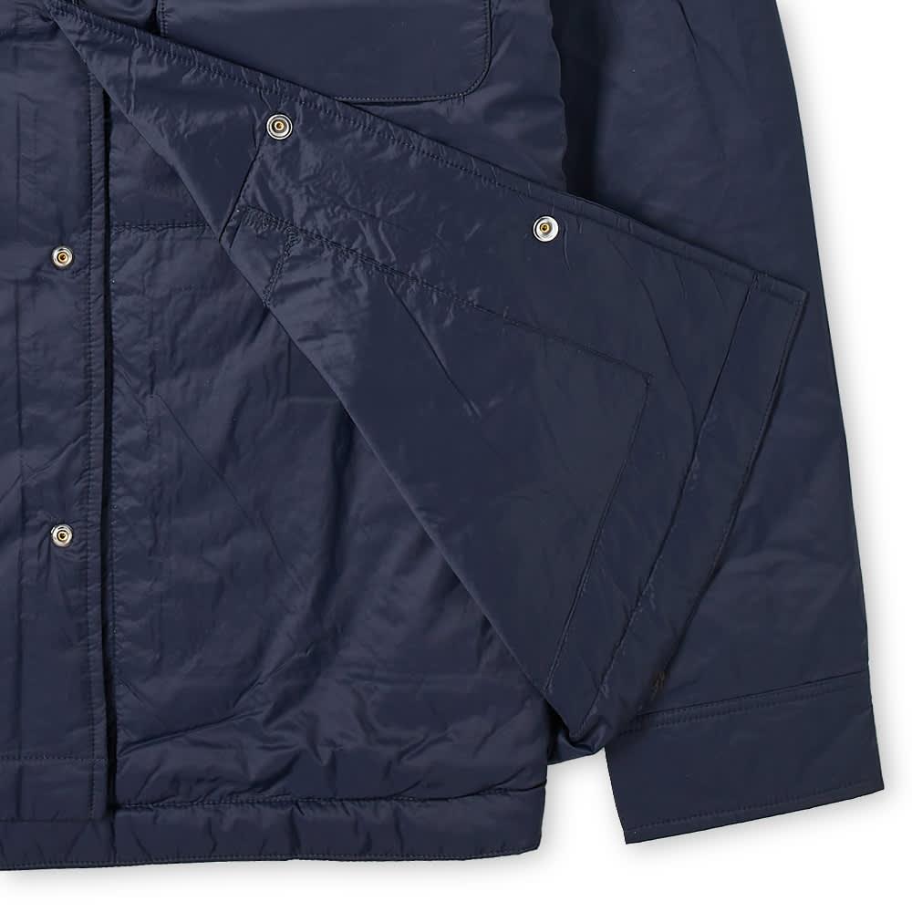 NN07 Columbo Technical Overshirt - Navy Blue