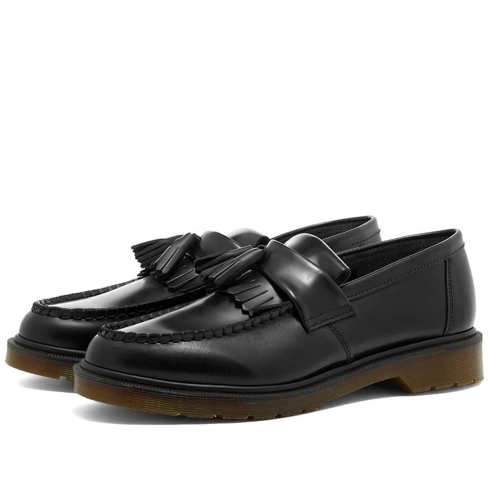 Dr. Martens Adrian Tassel Loafer - Black Polished Smooth