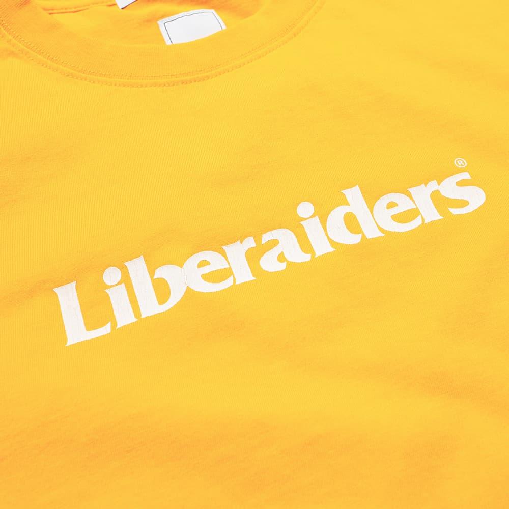 Liberaiders OG Logo Tee - Yellow