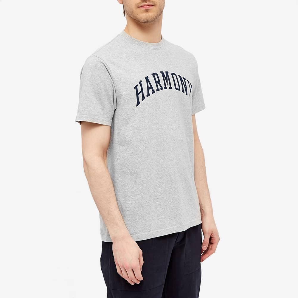 Harmony University Logo Tee - Ash Grey