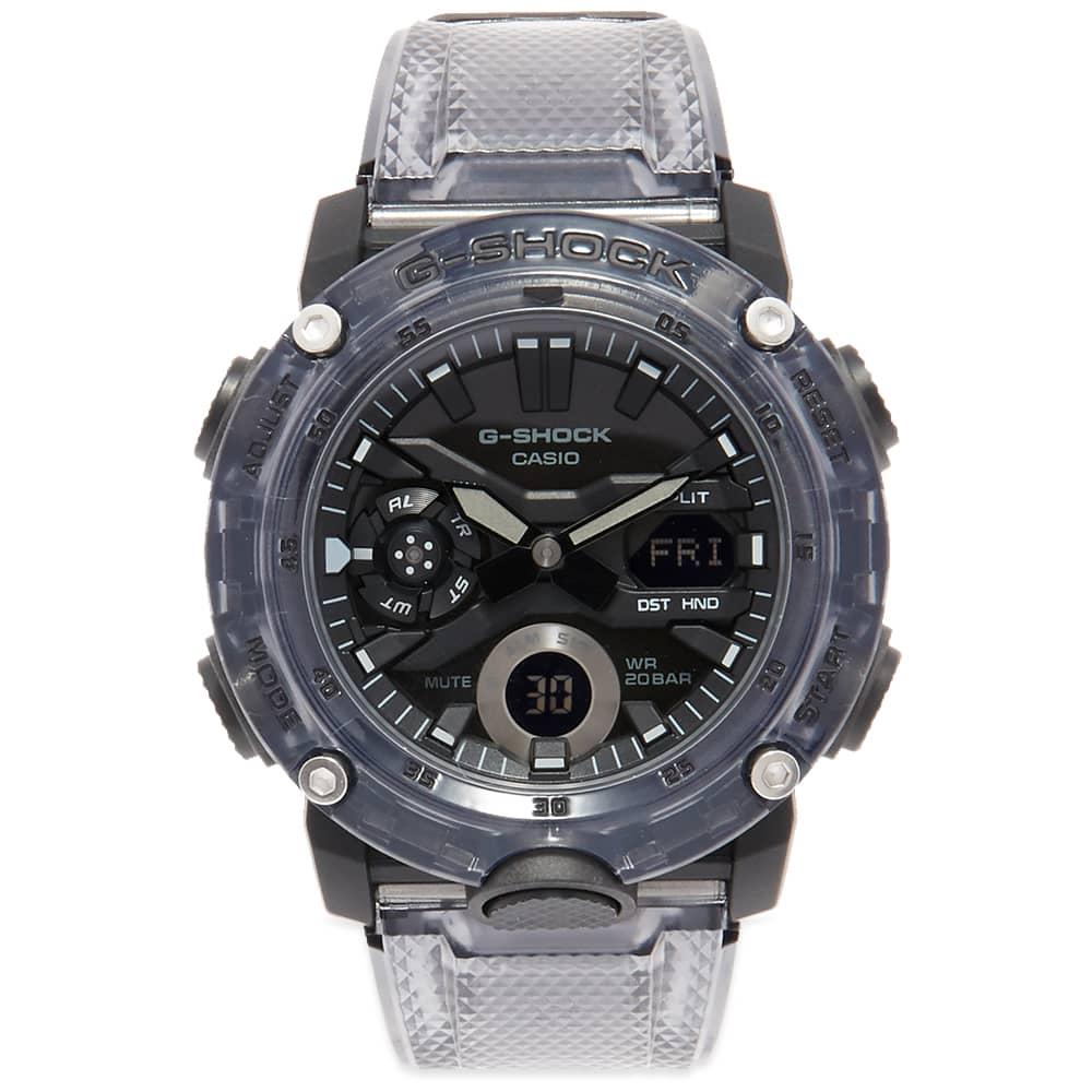 Casio G-Shock GA-2000 Transparent Watch - Grey