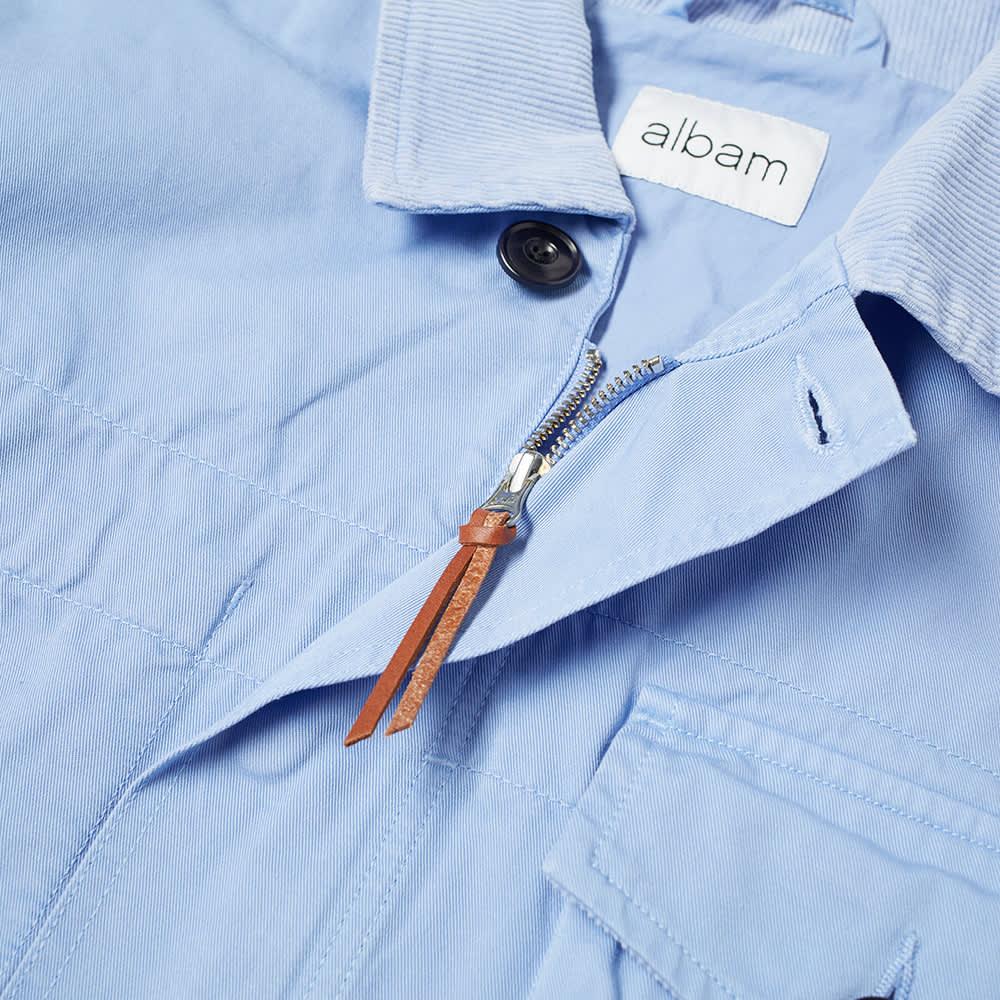 Albam Garment Dyed Foundry Jacket - Light Blue