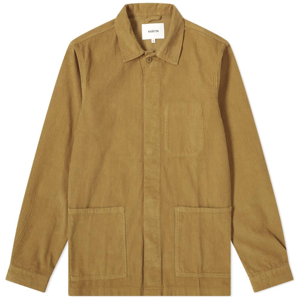 Kestin Arbroath Cord Jacket - Light Olive