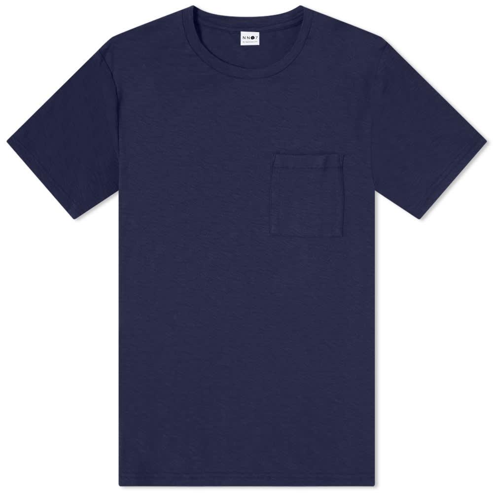 NN07 Aspen Pocket Tee - True Blue