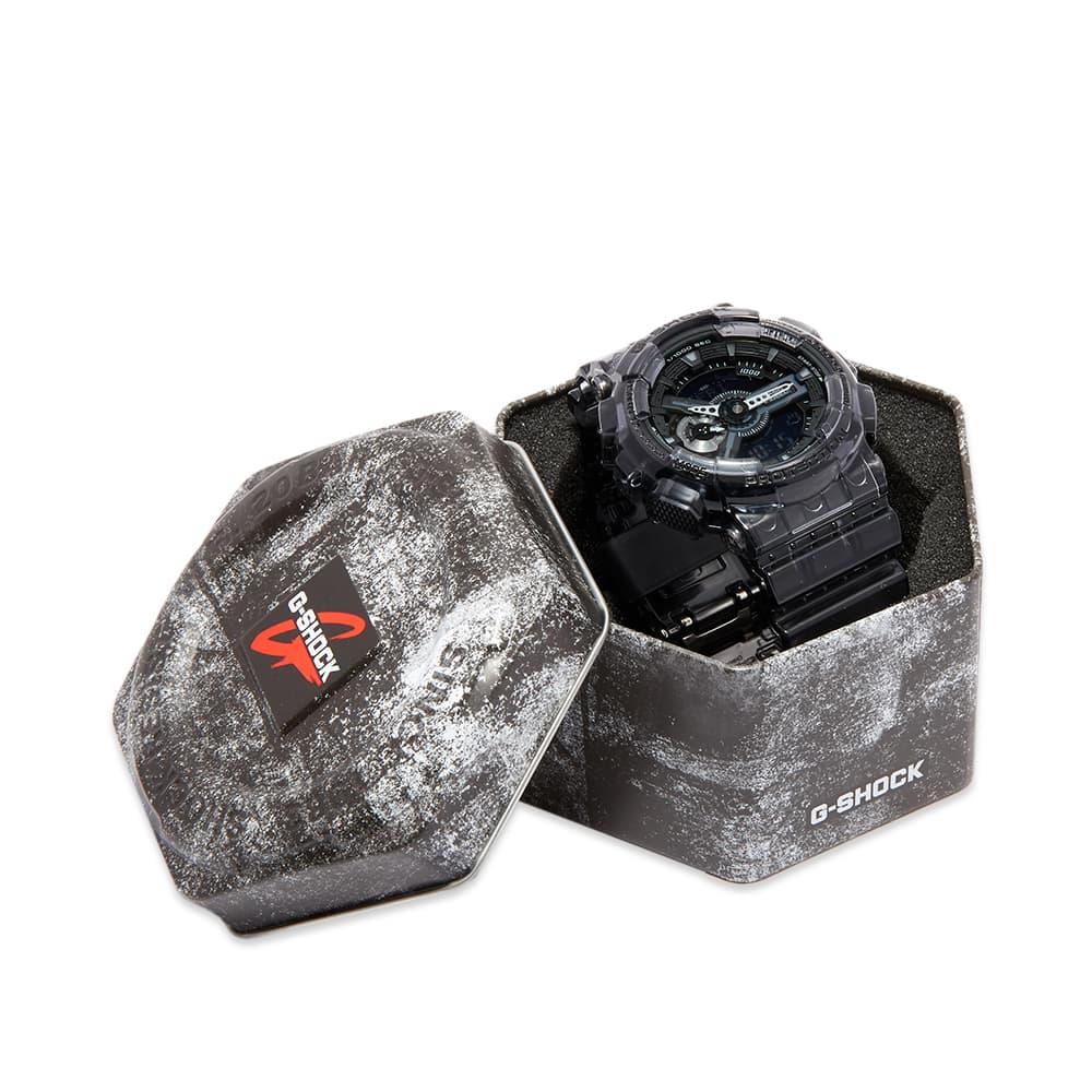 Casio G-Shock GA-110 Transparent Watch - Grey